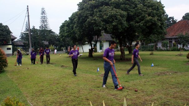 Lapangan Wood Ball