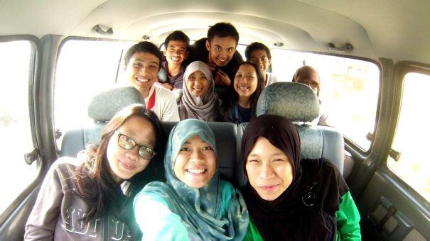 Perjalanan Bandung - Sukabumi